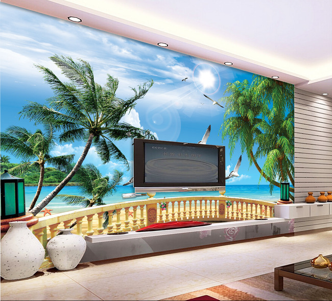 海南椰子树背景设计背景图片psd深圳市乾元包装设计有限公司图片