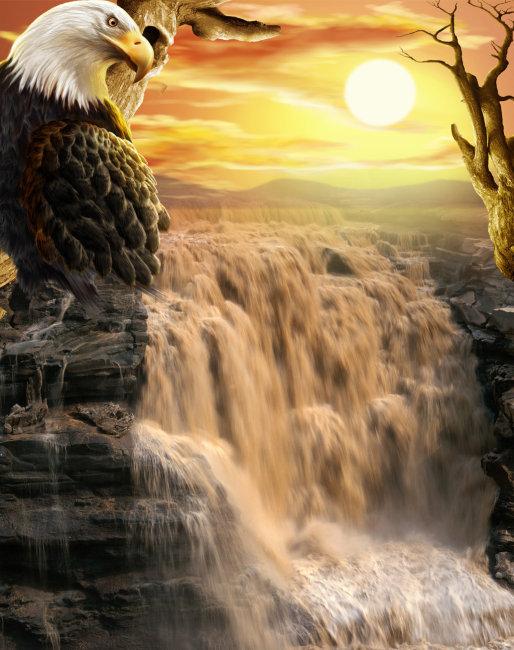 design 油画风景夕阳内容油画风景夕阳图片  美丽的山水田园油画,高清