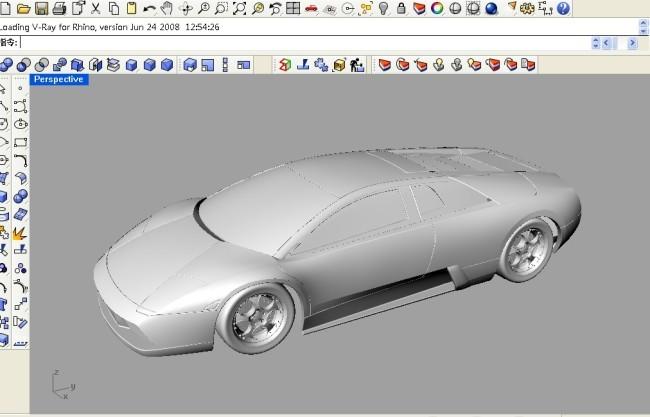 兰博基尼犀牛建模(图片编号:10304129)_其他模型_我图网
