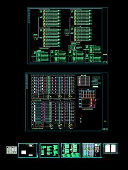 v户型说明,户型图,图纸表CAD系统三层小材料楼中楼设计图图片