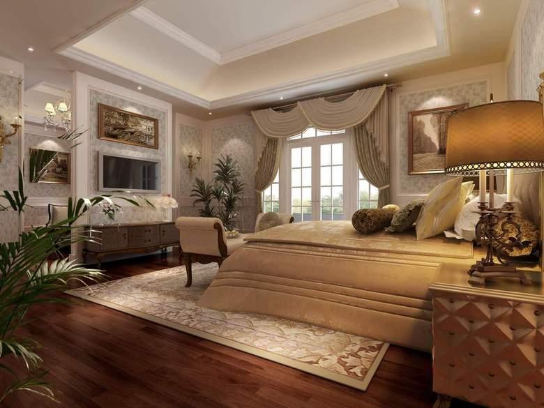 客厅卧室一体装修效果图_客厅带卧室装修图片_尚品宅配