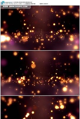 梦幻粒子瀑布LED视频素材