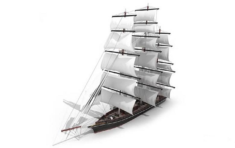 3D帆船模型设计图下载 图片13.91MB 其他模型库 其他模型图片