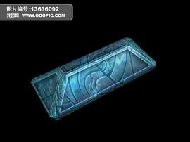 梯形三维石头模型