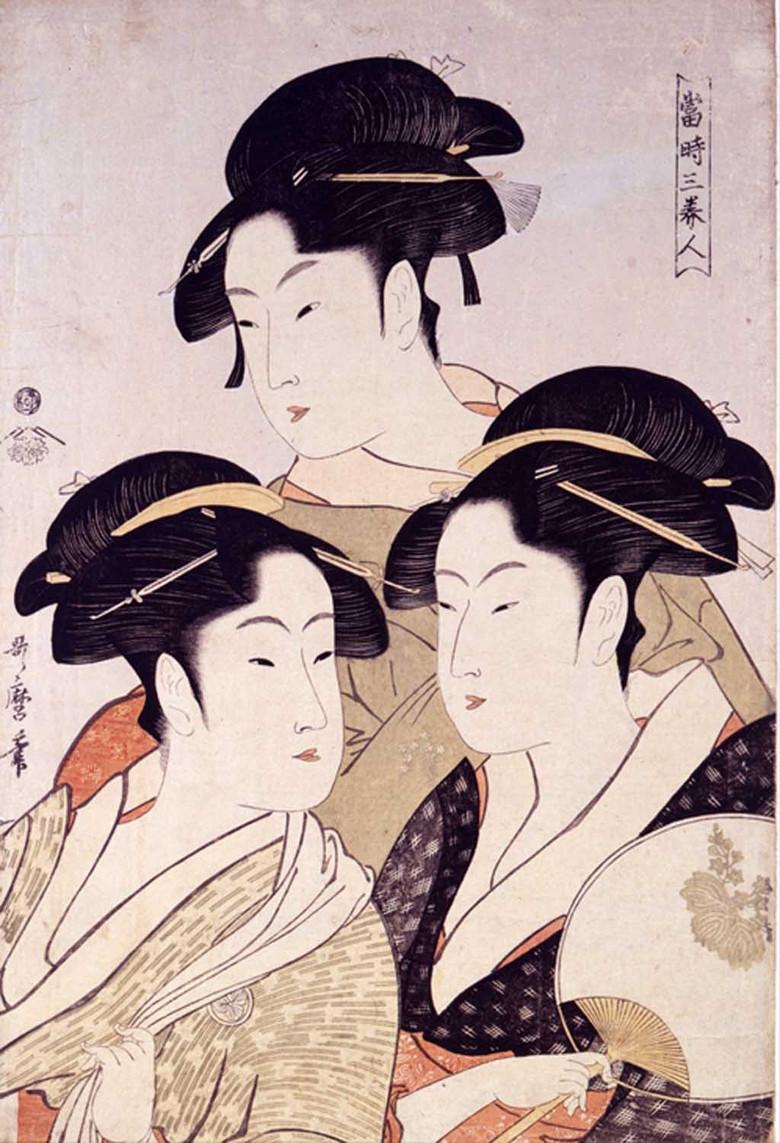 日本传统艺伎绘画 图片编号 14023093 装饰画 我图网