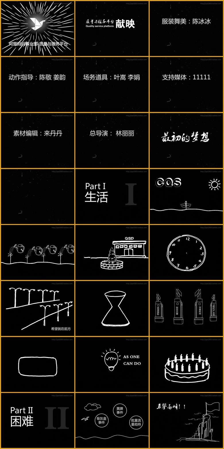 光影手电筒舞蹈PPT成品01模板下载 158.13MB 其他大全 其他PPT