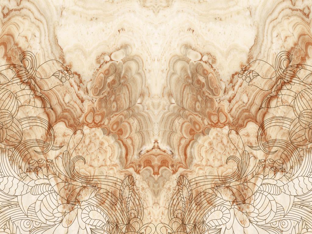 高清欧式花纹欧菲拉大理石背景墙