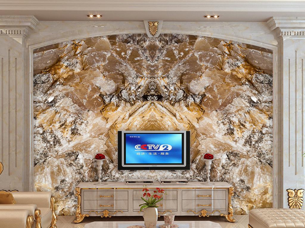 超高清花岗岩大理石石材电视背景墙图片设计素材 模板下载 166.10MB 大理石背景墙大全