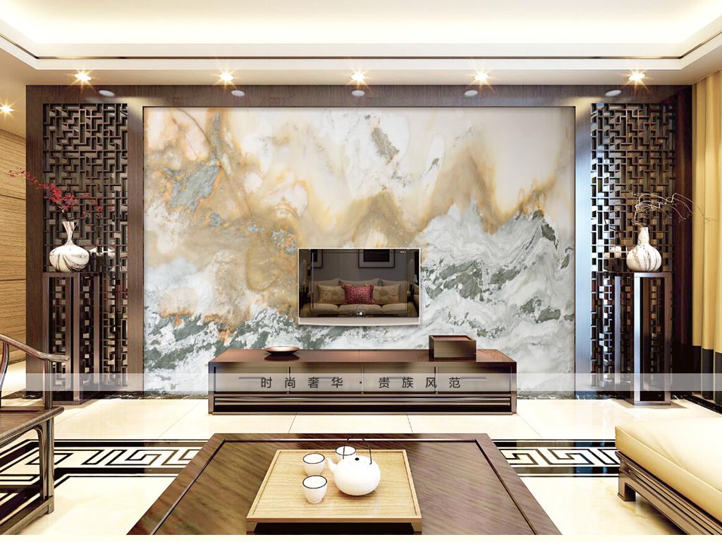 背景墻|裝飾畫 電視背景墻 大理石背景墻 > 玉石山水畫大理石石紋石材