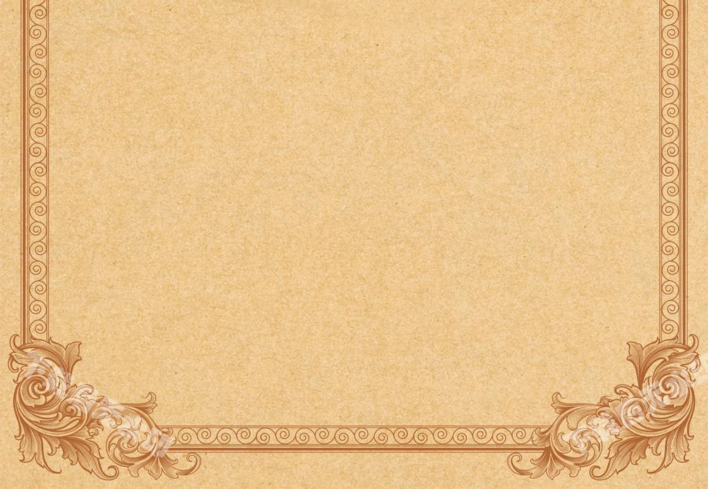 信纸背景线框a4信纸背景                                  设计素材图片