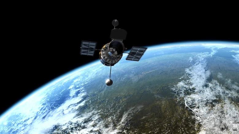 哈勃望远镜的数据被发送到地球图片设计素材 高清模板下载 20.61MB 其他大全