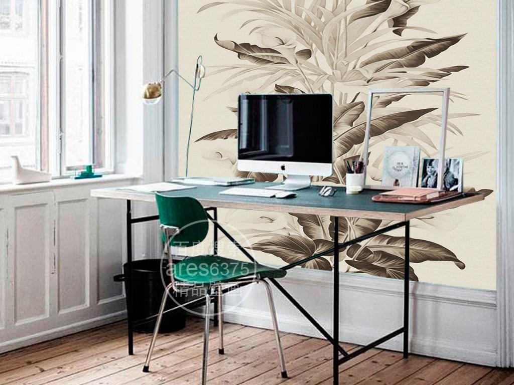 电视背景墙浪漫欧式背景墙绘画油画