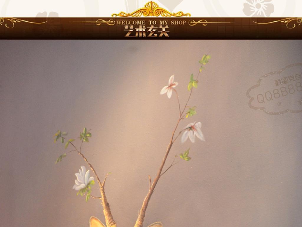 梦幻鸟森林欧洲油画风景油画人物油画油画风景手绘油画室内装饰画人物