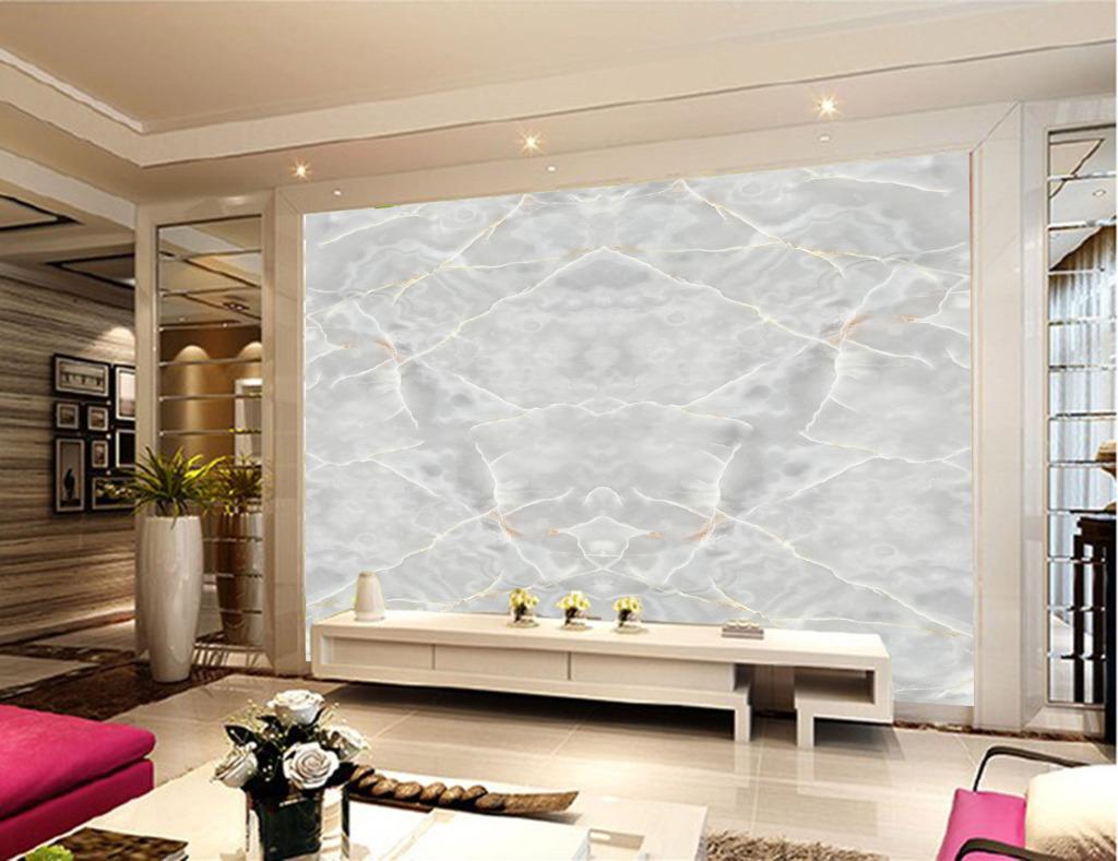 大理石纹理拼图白影玉石Ⅱ背景墙图片设计素材 高清PSD模板下载 22.95MB QQB700BB70分享 电视背景墙大全