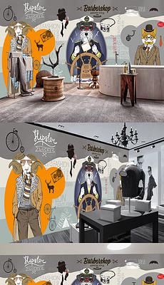 服装店橱窗背景图片 服装店橱窗背景素材下载 我图网