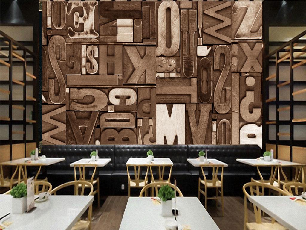 美式背景墙                                  餐厅图片