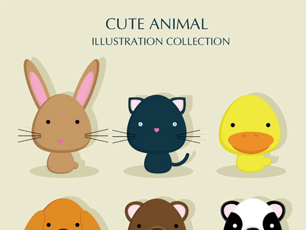 插画小动物(图片编号:15231143)_插画|元素|卡通_我