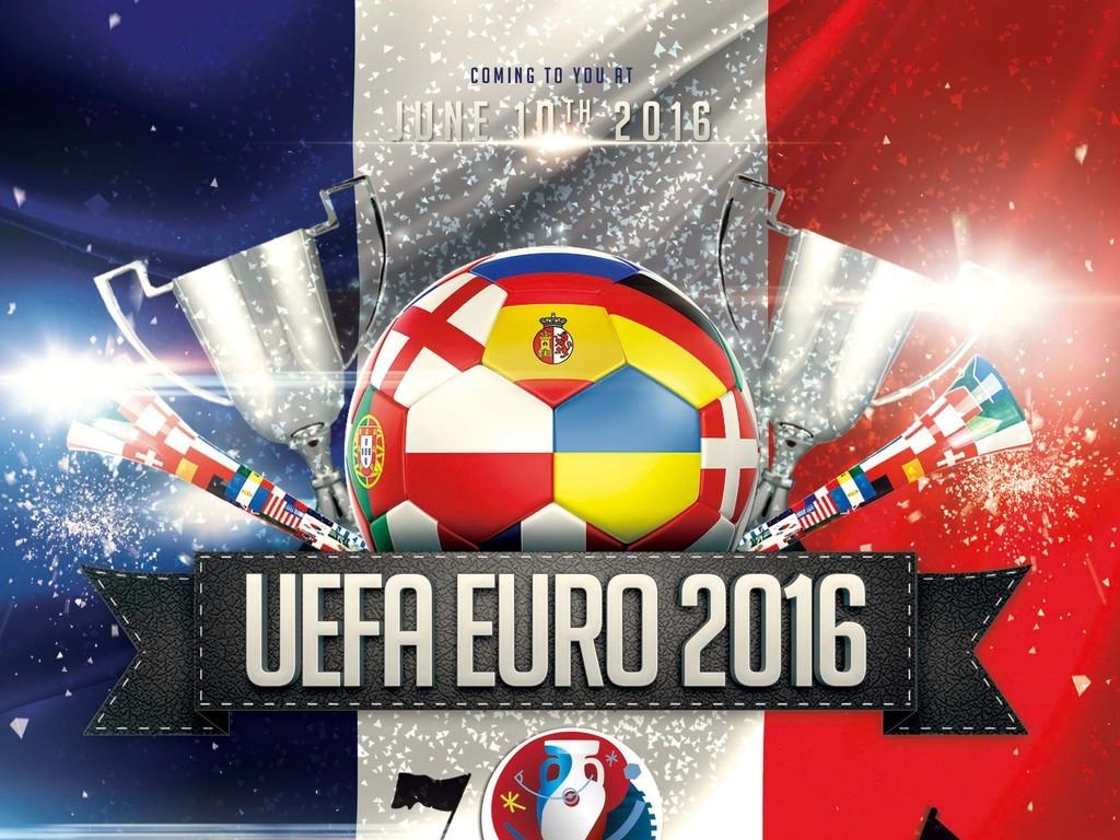2016欧洲杯足球赛通用宣传海报模板(图片编号:)_体育