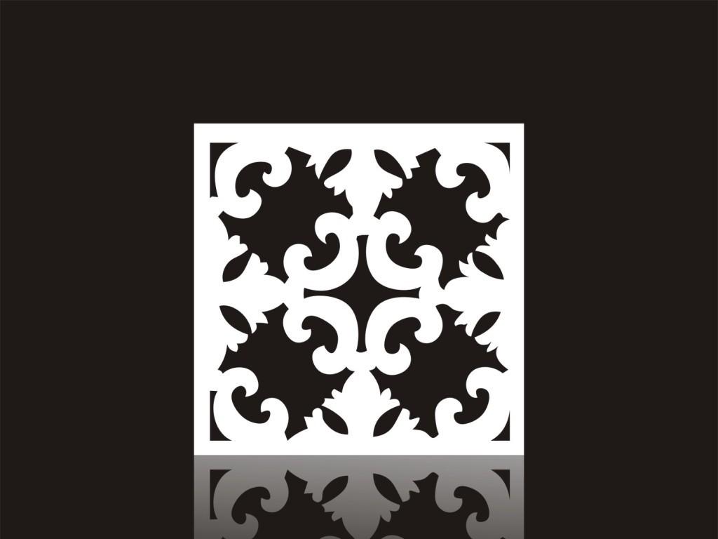 雕刻图案屏风雕花雕刻镂空花纹现代欧式花纹背景墙欧式现代花纹背景墙