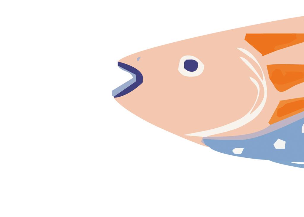 设计作品简介: 海底鱼元素水彩插画装饰画照片墙 位图, cmyk格式高清