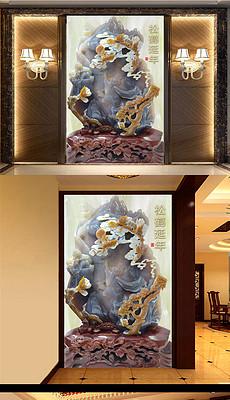 浮雕松鹤图片素材 浮雕松鹤图片素材下载 浮雕松鹤背景素材 浮雕松鹤模板下载 我图网图片