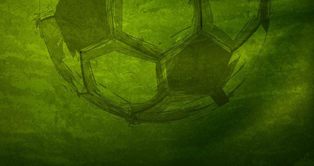 背景墙 电视背景墙 电视背景墙 > 现代简约涂鸦足球背景墙  素材图片