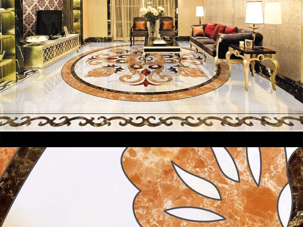 高温烧瓷砖微晶石拼花地毯图片设计素材 高清模板下载 132.99MB 拼花地板大全图片