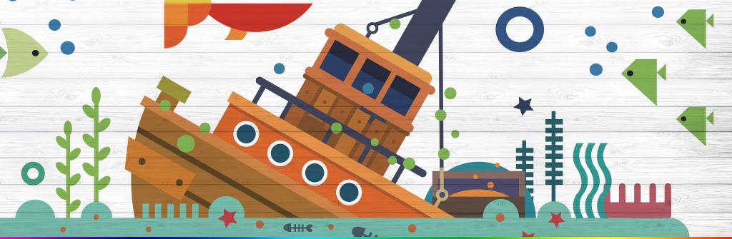 背景墙 装饰画 电视背景墙 儿童房背景墙 > 3d立体卡通手绘海底世界