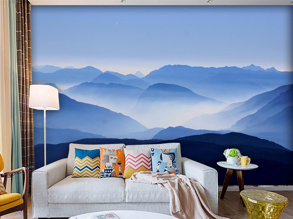 欧式花纹墙纸背景墙风景电视背景墙风景电视背景墙自然风景3d风景背景