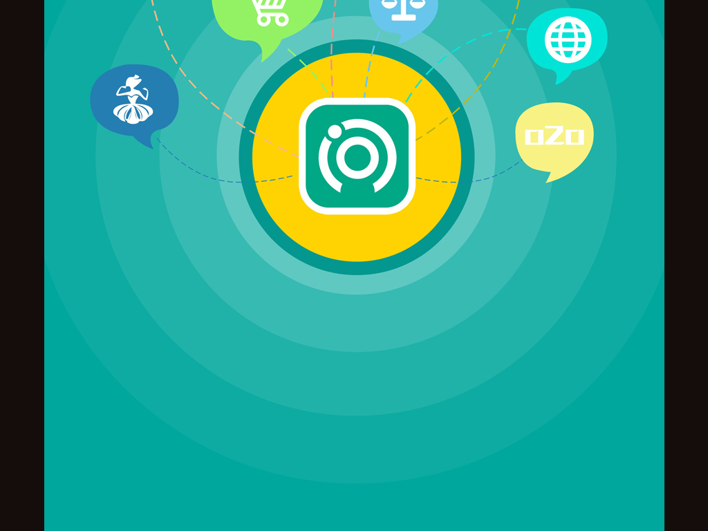 平面|广告设计 微信营销模板 其他模板 > 简约app在线连锁教育引导页