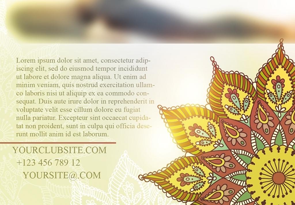 平面|广告设计 海报设计 国外创意海报 > 唯美瑜伽yoga健身塑形psd