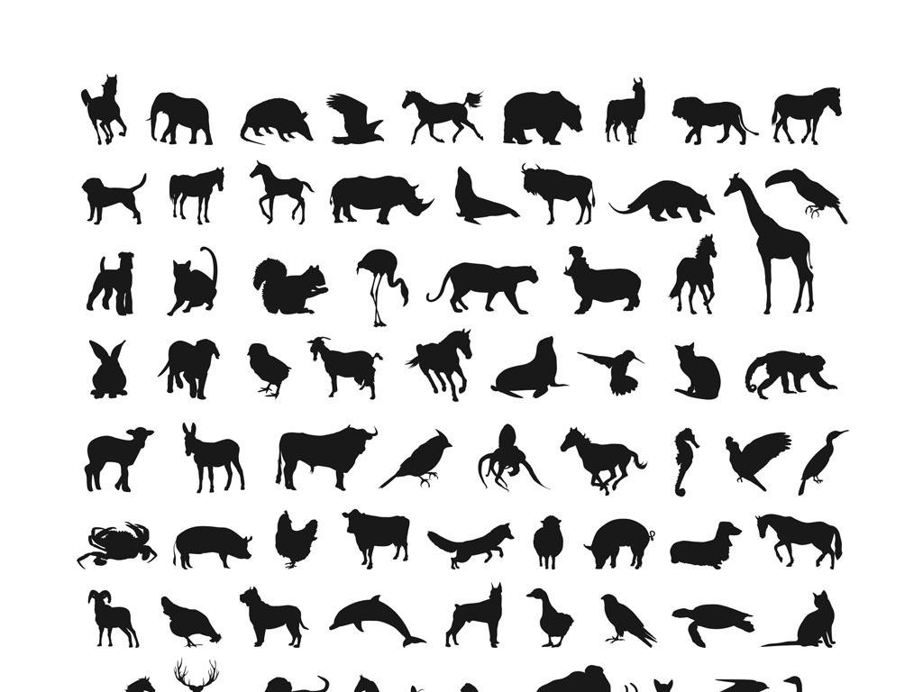 平面|广告设计 其他 设计素材 > 动物矢量大全cdr素材动物园老虎狮子