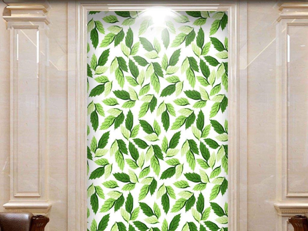 欧式大理石抽象简约绿色清新绿色唯美绿色欧洲油画人物油画油画风景