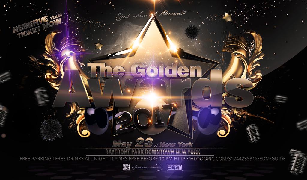 华丽炫酷新年晚会音乐盛典舞台背景海报展板图片
