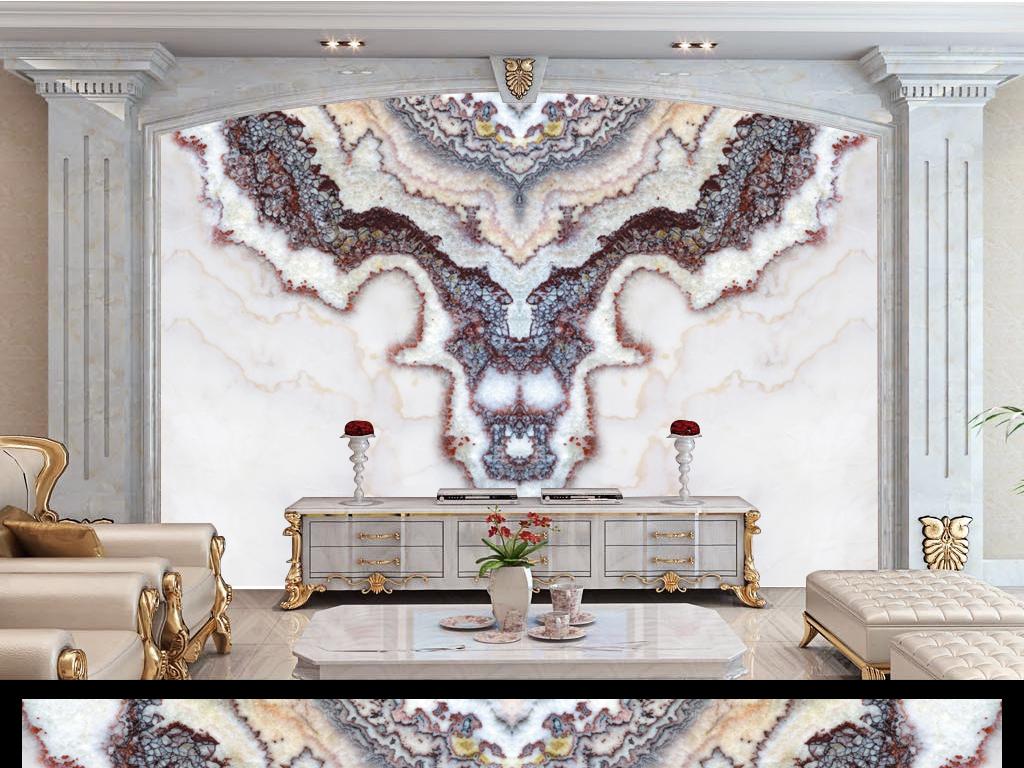 玉石石纹贴图花纹别墅酒吧大厅室内客厅玄关过道电视机背景墙屏风隔