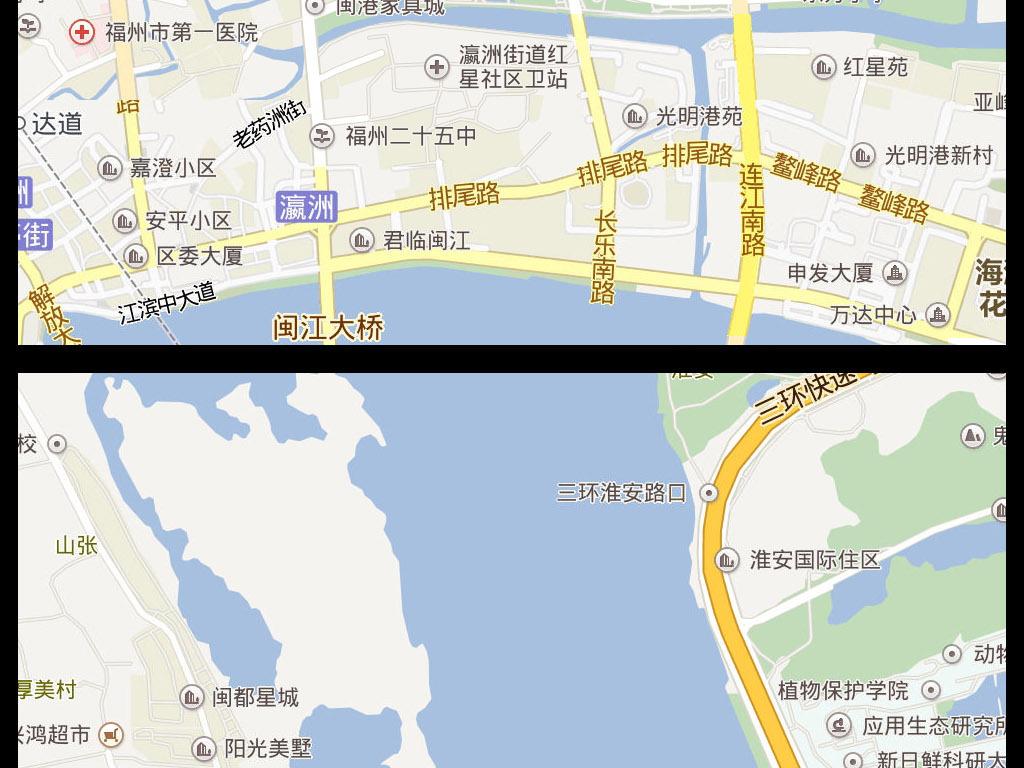 2016福州市电子地图图片下载