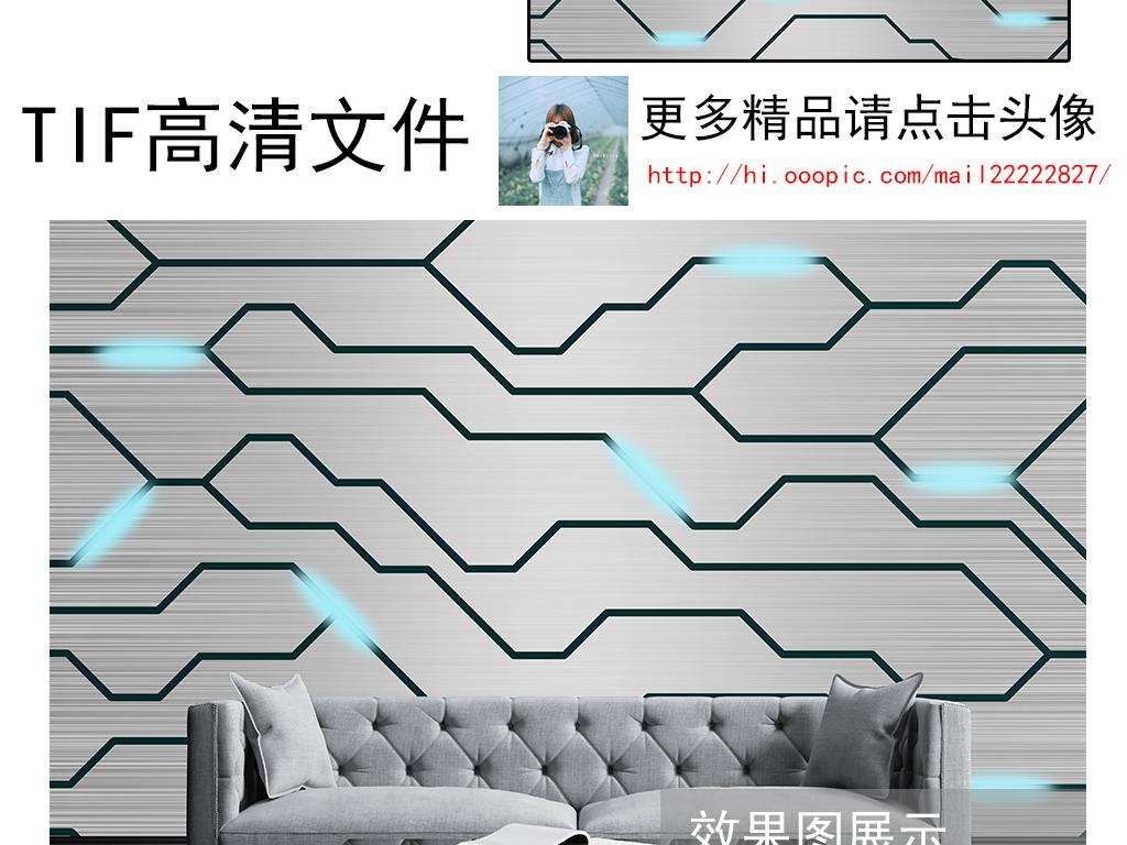电路图背景墙装饰画 位图, rgb格式高清大图,使用软件为 photoshop cs