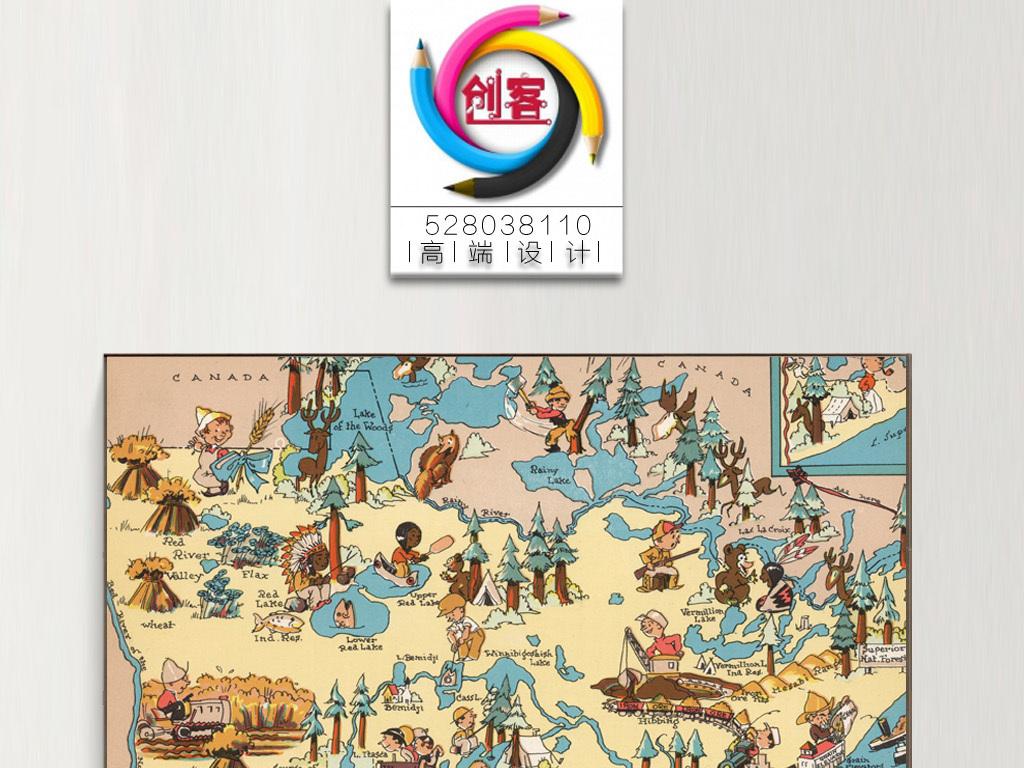 装饰画手绘手绘pop手绘pop字手绘海报手绘效果图手绘pop海报手绘风景