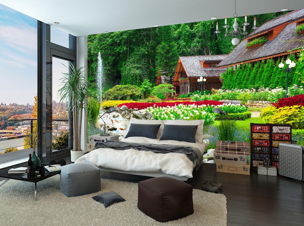 我图网提供精品流行别墅后花园景观风景背景墙背景画素材下载,作品模板源文件可以编辑替换,设计作品简介: 别墅后花园景观风景背景墙背景画 位图, RGB格式高清大图,使用软件为 Photoshop CS6(.psd)