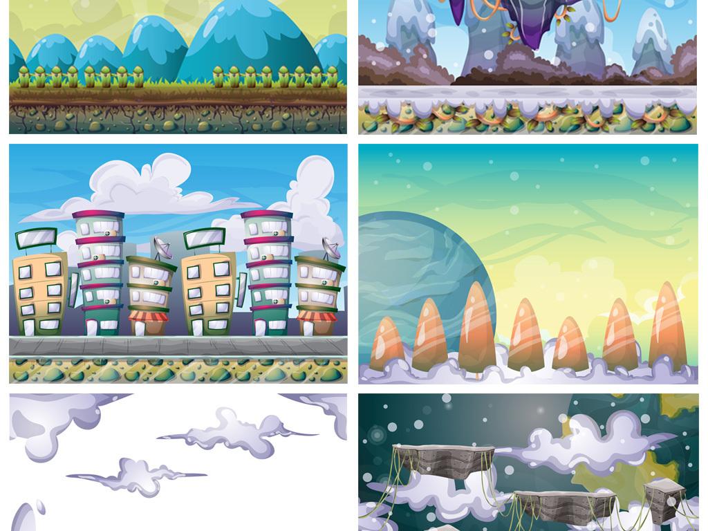 幼儿园卡通背景卡通儿童手绘卡通卡通装饰画装饰画卡通手绘儿童现代