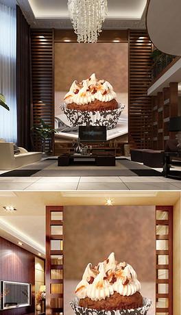 高清摄影蛋糕甜点壁画