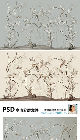 PSD仿古工笔画 PSD格式仿古工笔画素材图片 PSD仿古工笔画设计模