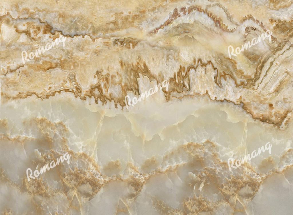 立体高清大理石纹理江山如画山水图背景墙