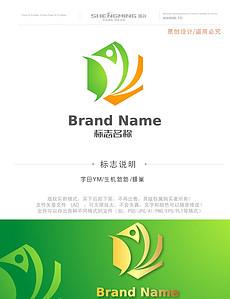 YM蜂蜜保健食品有机食品绿色食品LOGO设计-蜂蜜标志图片素材 蜂蜜图片