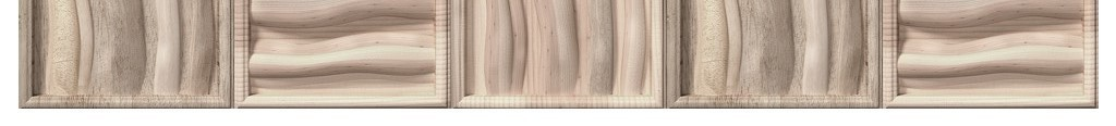 3d立体方框木头纹理自然原木色电视背景墙