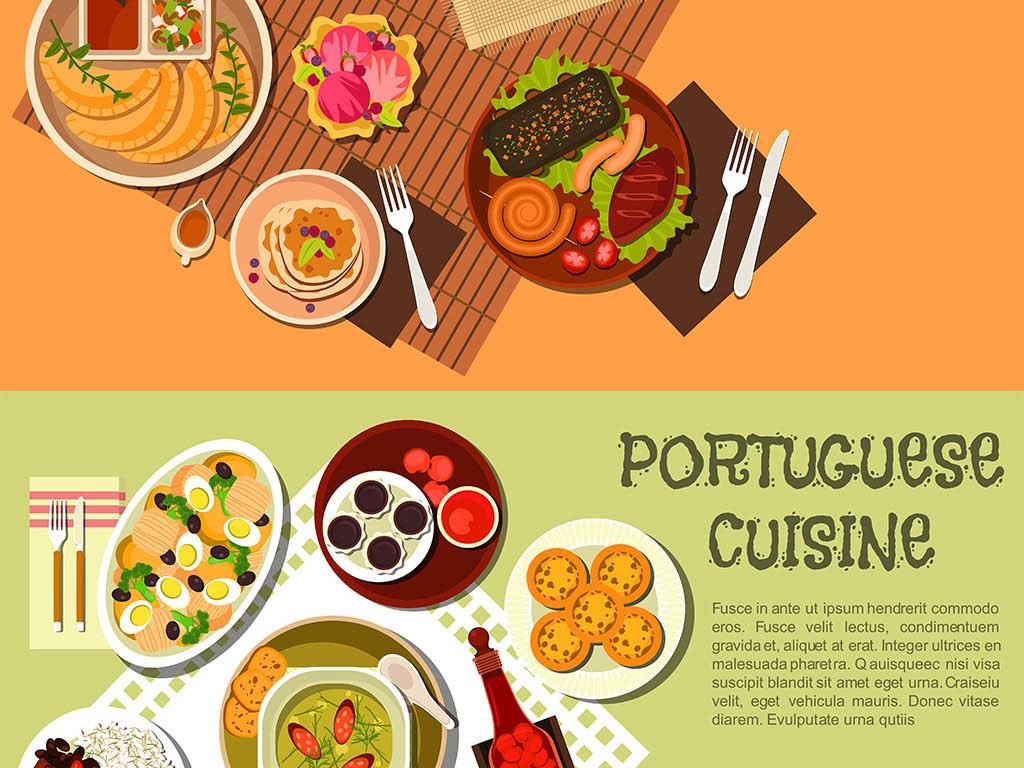 餐厅海报餐厅装饰画手绘美食私房菜寿司
