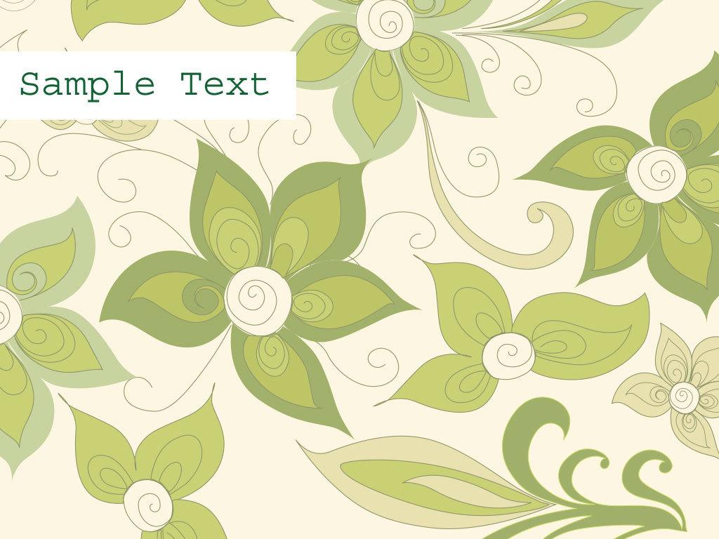 绿色树叶花朵背景图(图片编号:15964310)_欧式边框_我