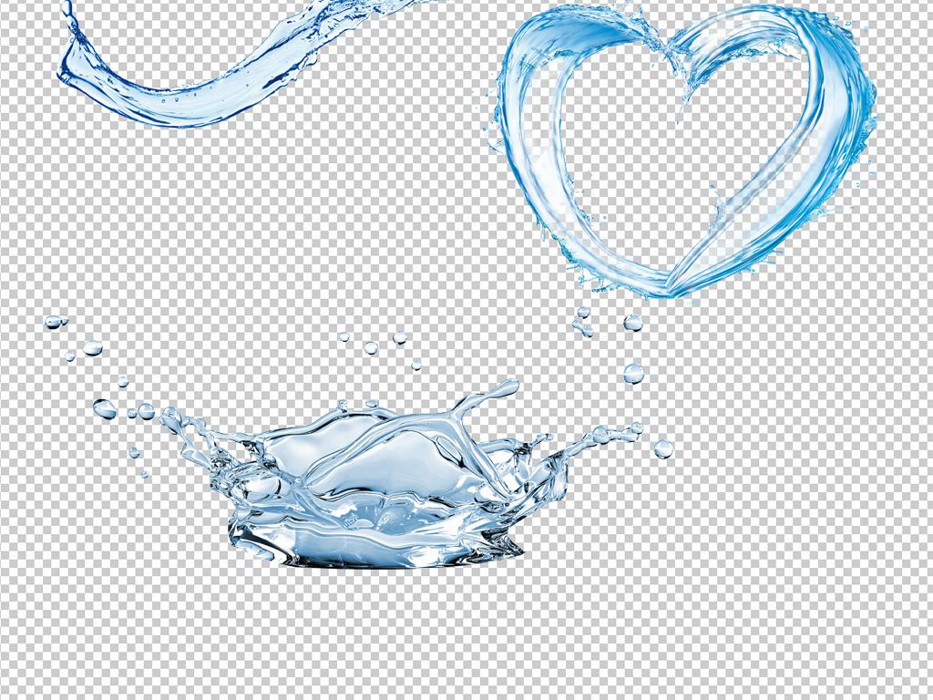28款水元素素材水特效免抠psd分层素材