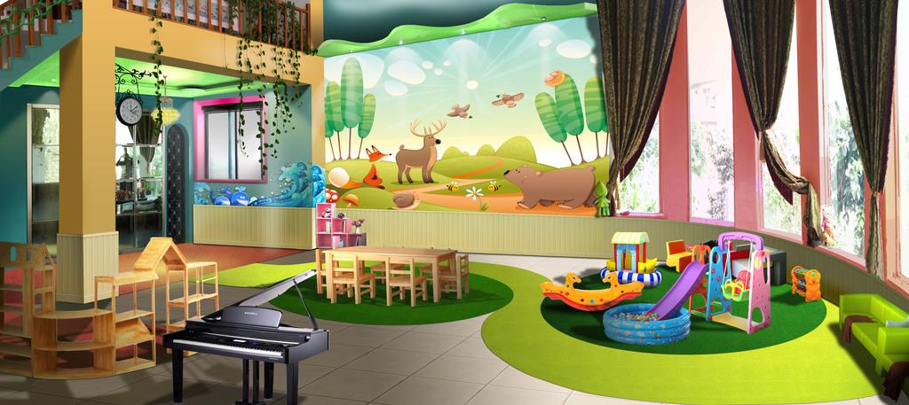 背景墙 装饰画 电视背景墙 儿童房背景墙 > 儿童,幼儿园背景墙  版权