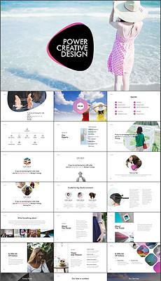 装展示广告宣传PPT模板-137 1581图库图片模版下载 我图网图库